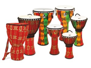 Toca New Finishes Djembe Group
