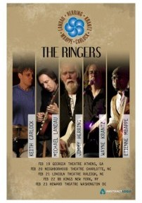 "JIMMY HERRING, WAYNE KRANTZ MICHAEL LANDAU, KEITH CARLOCK AND ETIENNE MBAPPE JOIN TOGETHER TO FORM ""THE RINGERS"""