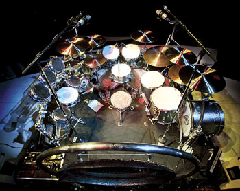 Alex Van Halen Bashing And Crashing In The Here And Now Modern Drummer Magazine