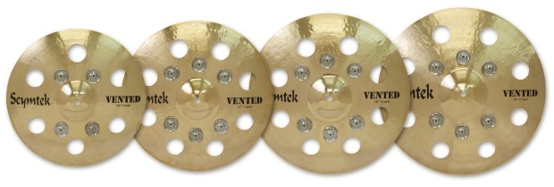 Spaun's Scymtek Cymbals Now Include Vented Series Jingle Crashes!