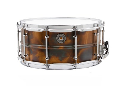 Taye Specialty Walnut/Mahogany Hybrid and MetalWorks Vintage Brass Snares