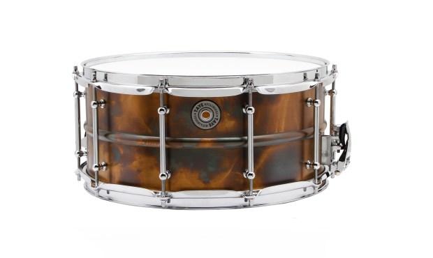 Taye Specialty MetalWorks Vintage Brass Snares