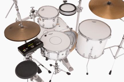 Yamaha DTX502 Hybrid Pack With Stage Custom Birch Drum Set