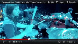 "Drummer Blake Richardson of Between the Buried and Me: ""Telos"" Live VIDEO"
