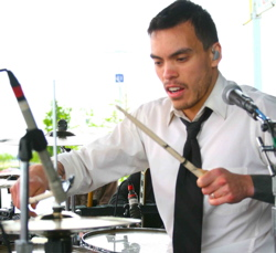 Drummer Brian Vodinh of 10 Years