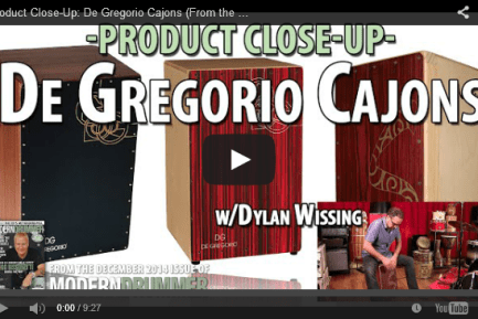 Product Close-Up: De Gregorio Cajons and Ahead Armor Cajon Bags (December 2014 Issue)