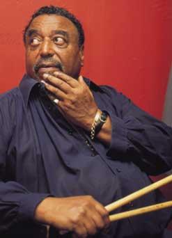 Drummer Chico Hamilton