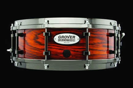 Solid-Cocobolo Grover Pro Custom Snare Drum