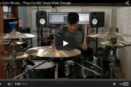 "Drummer Blog: The Color Morale's Steve Carey Walks Through the Drumming for ""Prey For Me"""