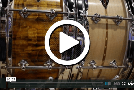 Craviotto Drum Co. at NAMM 2015 (VIDEO)