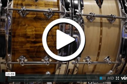 Craviotto Drum Co. at NAMM 2015 (VIDEO)