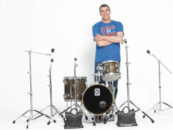 Drummer Darren Lyons of the Darren Lyons Group
