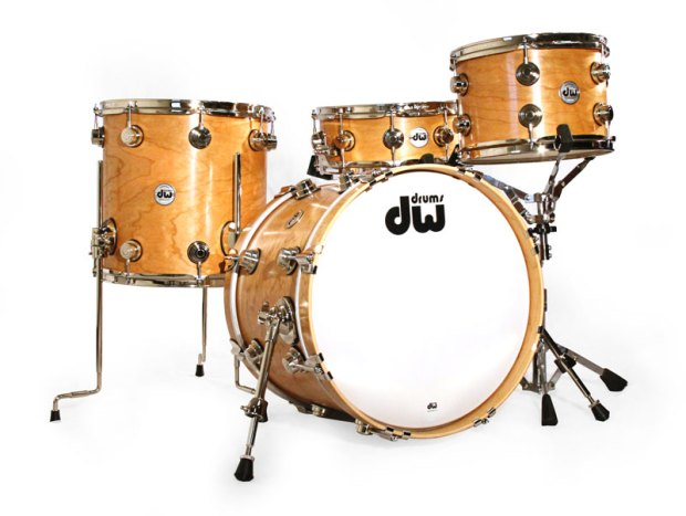 AUDIO! Product Close-Up: DW Collector's Series Cherry Drumset (April 2014 Issue)