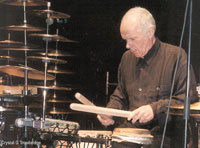 Pierre Favre of Drum Orchestra