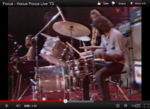 "Focus perform ""Hocus Pocus"" live on the Midnight Special in '73"