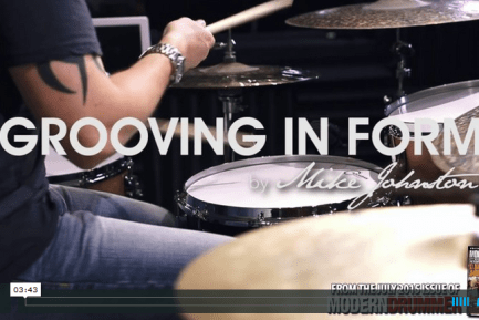 Rock & Jazz Clinic: Grooving in Form, Part 1: AABA Beats (VIDEO)
