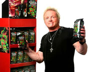 Joey Kramer's Rockin' & Roastin' Coffee Available at Big Y