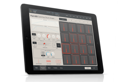Akai Professional iMPC Pro iPad app is now available!