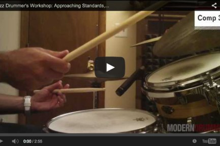 VIDEO! Jazz Drummer's Workshop: Approaching Standards, Part 2: Melody and Form