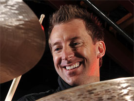 Drummer Mike Johnston Headshot