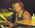 drummer Kevin Miller of Fuel