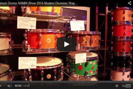 VIDEO - Gretsch Drums NAMM Show 2014 New Gear Coverage