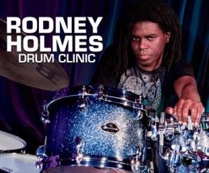 Rodney Holmes Drum Clinic Free Live Stream