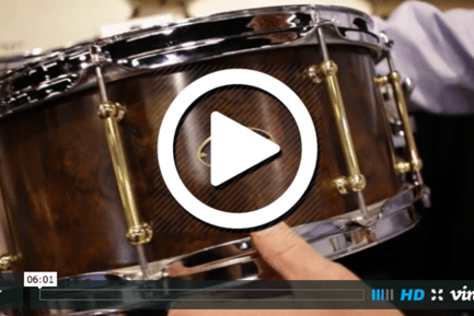 RBH Drums at NAMM 2015 (VIDEO)