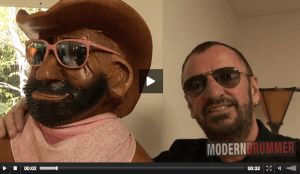 Drummer Ringo Starr Video Blog