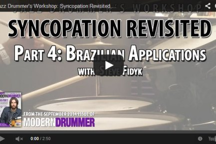 VIDEO! Syncopation Revisited, Part 5: Brazilian Applications
