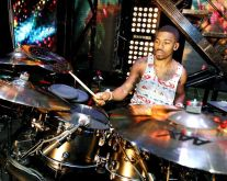 "Drummer George ""Spanky"" McCurdy"