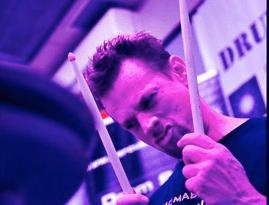 drummer Thomas Lang