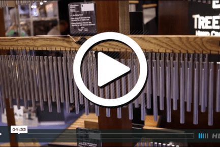 Treeworks Chimes at NAMM 2015 (VIDEO)