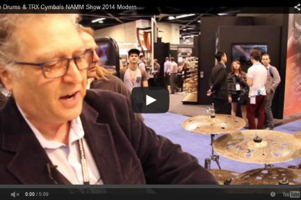 VIDEO - Pure Drums & TRX Cymbals NAMM Show 2014 New Gear Coverage