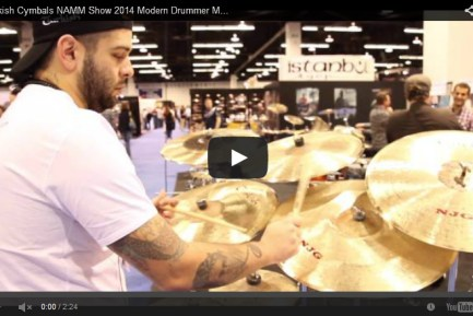 VIDEO - Turkish Cymbals NAMM Show 2014 New Gear Coverage