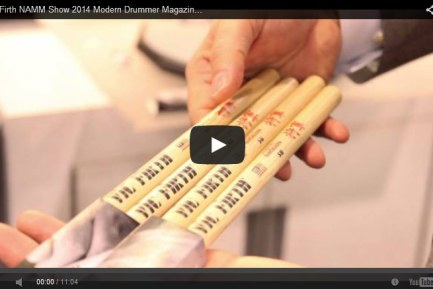 VIDEO - Vic Firth NAMM Show 2014 New Gear Coverage