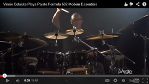 Paiste Artist Vinnie Colaiuta Discusses the Formula 602 Modern Essentials Series