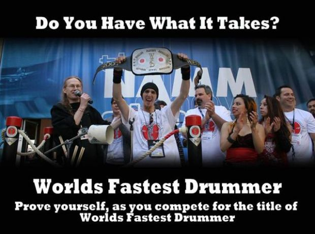 World's Fastest Drummer Contest Returns To Summer NAMM