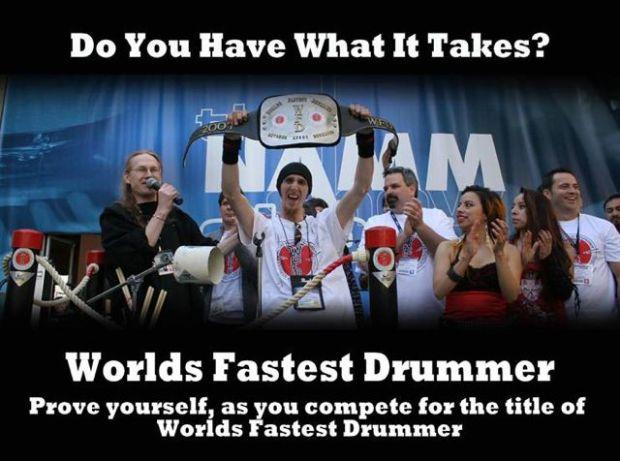 World's Fastest Drummer Contest Returns To Summer NAMM