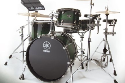 WIN this Yamaha hybrid drumset