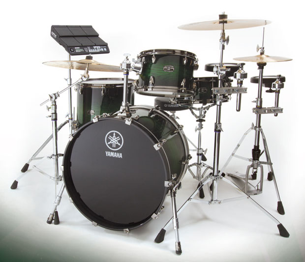 WIN this Yamaha hybrid drumset