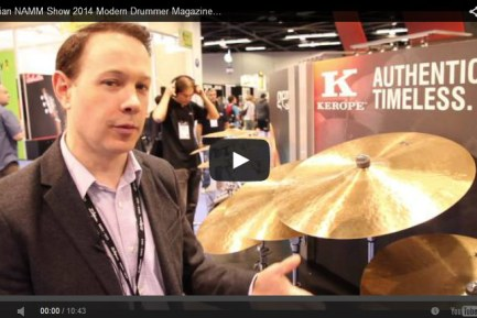 VIDEO - Zildjian NAMM Show 2014 New Gear Coverage