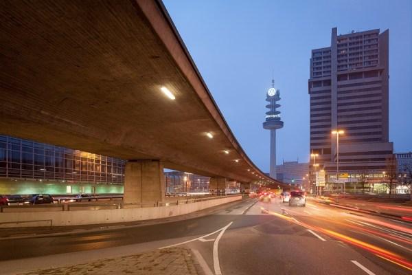 Hannover, Hochstrasse am Raschplatz als Teil des Innenstadtrings, 2014 (Bild: Christian Schröder, CC BY SA 3.0)