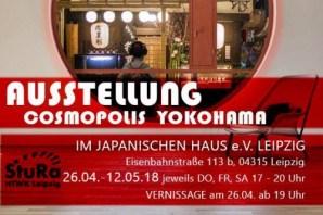 "Ausstellung ""Cosmopolis Yokohama"" (Bild: Japanisches Haus Leipzig e. V.)"