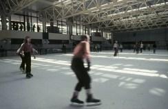 Berlin-Friedrichshain, Sport- und Erholungszentrum (Bild: Fortepan, CC BY SA 3.0, 1982)