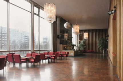 Berlin, Kino International, oberes Foyer (Bild: Eric Neuling, 2009)