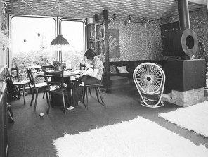 Dorsten, Habiflex-Innenansicht, um 1976 (Bild: Bundespresseamt Bonn)
