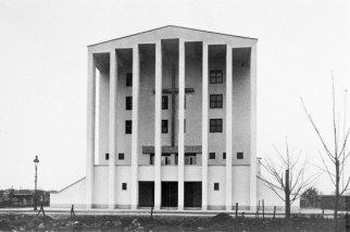 Frankfurt-Niederrad, Paul-Gerhard-Gemeindehaus (Foto: Hermann Collischonn, wohl um 1930)