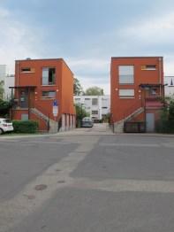 ABRISS: Frankfurt am Main-Niederursel, Wohnbebauung am Standort des ehemaligen Evangelischen Kirchenpavillons (1966, Abriss um 2006)