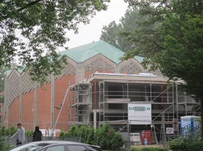 Hamburg-Horn, Umbau der ehemaligen Kapernaumkirche zur Al-Nour-Moschee, 2016 (Bild: K. Berkemann)